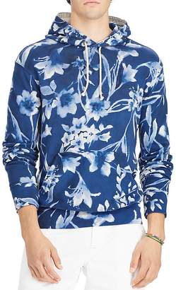 Polo Ralph Lauren Floral Spa Terry Hooded Sweatshirt