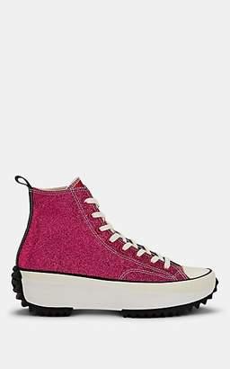 Converse Men's Run Star Hike Glitter Sneakers - Red