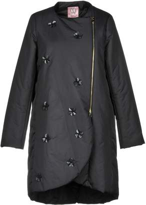 Rose' A Pois Synthetic Down Jackets - Item 41812837MO