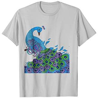 Peacock Shirts Peacock Feathers Tee