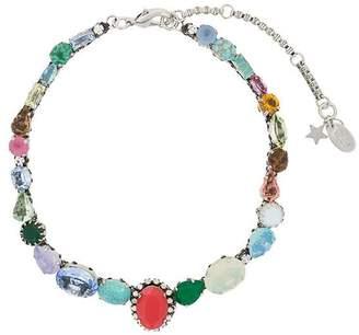Rada' Radà multicoloured stone necklace