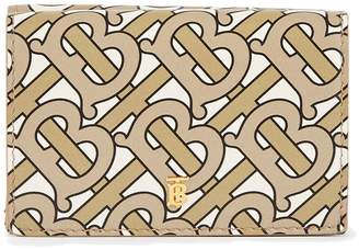Burberry Lark grained calfskin wallet