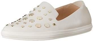 Nine West Women's Sharolotta Leather Sneaker