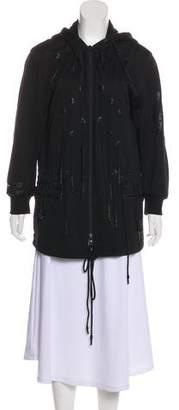 Y-3 Perforated Hooded Jacket