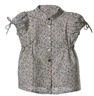 Mademoiselle Croisette Blouse In Liberty Fairford