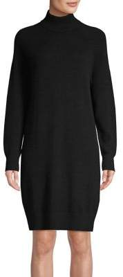 Lord & Taylor Long Sleeve Turtleneck Cashmere Dress