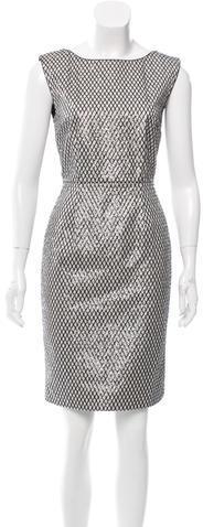 Marc JacobsMarc Jacobs Silk Sequin Dress