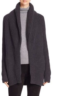 Vince Wool & Cashmere Cardigan $475 thestylecure.com