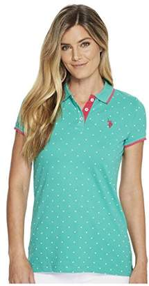 U.S. Polo Assn. Women's Short Sleeve Fashion Polo Shirt