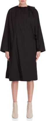 Ter Et Bantine Black Cotton Midi Dress