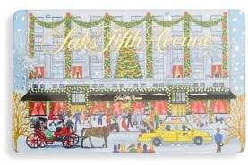 Saks Fifth Avenue Holiday 2018 Gift Card