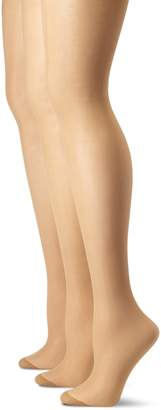 Pretty Polly Women's Plus-Size Curves Ladder Resist Tights