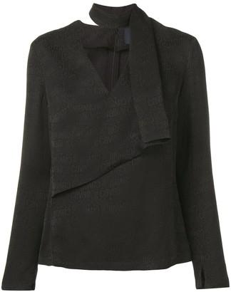 Class Roberto Cavalli logo blouse