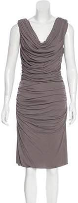 Derek Lam Ruched Midi Dress