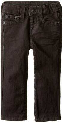 True Religion Superfly Geno Single End Class Sulfur Black Stretch in Superfly Wash Boy's Jeans