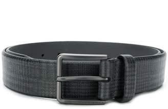 HUGO BOSS check patterned belt