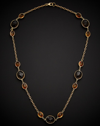 Italian Gold 14K Gemstone Necklace