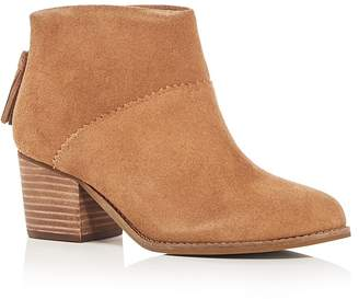 Toms Women's Leila Block Heel Booties