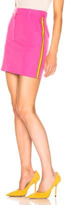 Calvin Klein Stripe Skirt in Petunia | FWRD