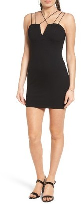 Women's Lush Strappy Body-Con Dress $49 thestylecure.com