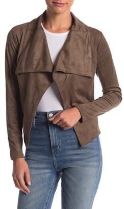 Romeo & Juliet Couture Drape Long Sleeve Jacket