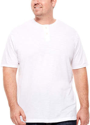 Co THE FOUNDRY SUPPLY The Foundry Big & Tall Supply Short-Sleeve Henley Shirt