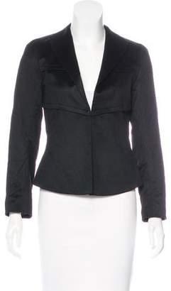 Loewe Cashmere Shawl Collar Blazer