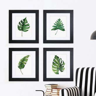 Cherry Pete Set Of Four Framed Botanical Prints
