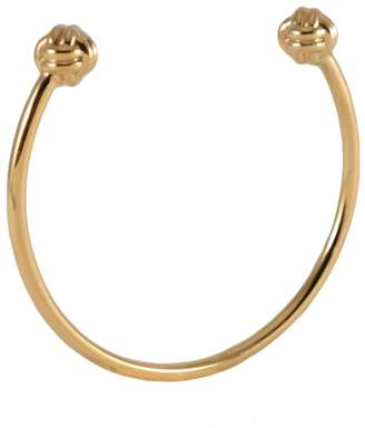 MARIE JUNE Jewelry - Monkey Paw Knot Gold Bangle