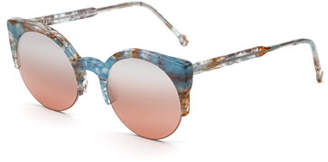 RetroSuperFuture Super by Lucia Onice Semi-Rimless Sunglasses