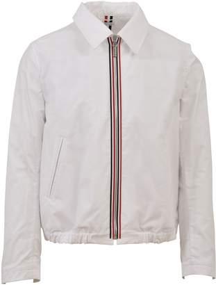 Thom Browne Collar Jacket White