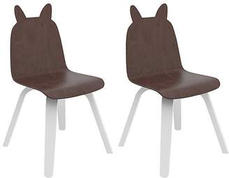 Oeuf Set Of 2 Rabbit Chairs