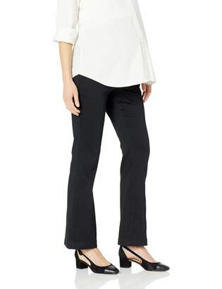 Motherhood Maternity Women's Maternity Petite 5 Pocket Secret Fit Belly Twill Boot Cut Pant