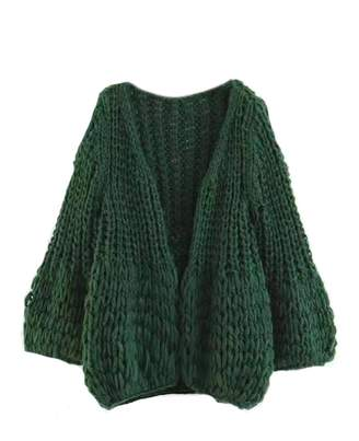 Goodnight Macaroon 'Lillibeth' Chunky Knit Cardigan (3 Colors)