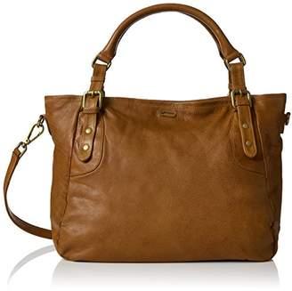 Kiss IKKS The Artist, Women's Shoulder bag, Marron (Camel), 17x29x45 cm (W x H L)