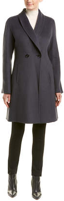 T Tahari Tahari Caleigh Wool-Blend Coat