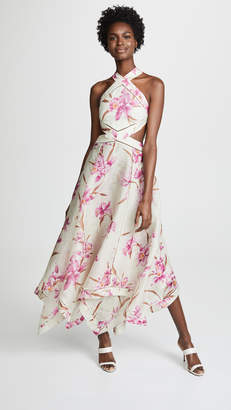Zimmermann Corsage Scarf Dress