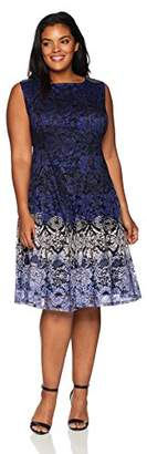 Gabby Skye Women's Plus Size Lace Dress
