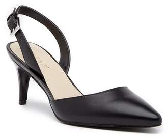 Nine West Epiphany Slingback Leather Pump - Wide Width Available