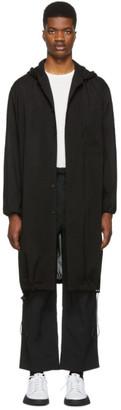 Y-3 Y 3 Black Hooded Long Shirt