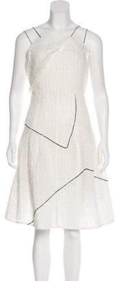 Chanel Sleeveless Pleated Dress