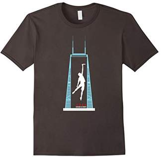 Chicago Ultimate Frisbee Skied T-Shirt
