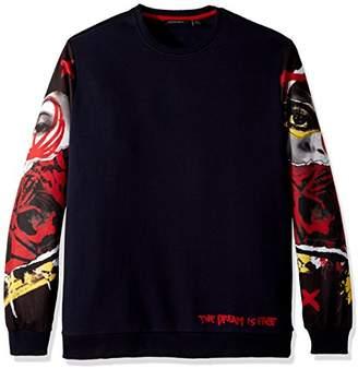 Sean John Men's Tall Size The Dream is Free Sweatshirt