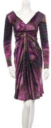 Alberta Ferretti Silk Dress w/ Tags