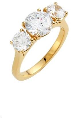 Women's Nadri 3-Stone Cubic Zirconia Ring $48 thestylecure.com