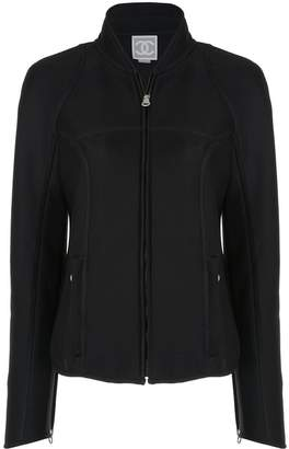 Chanel Pre-Owned branded arms zipped jacket