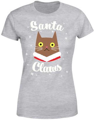 Santa Claws Women's T-Shirt - Grey