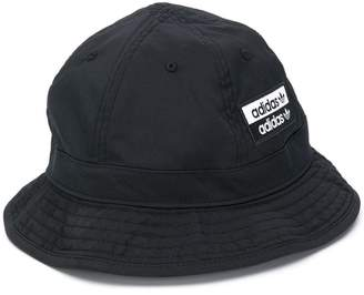 adidas logo patch bucket hat