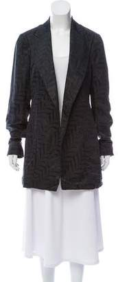 Gucci Silk Jacquard Coat