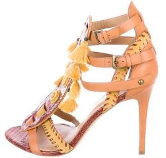 Kotur Python Multi-Strap Sandals